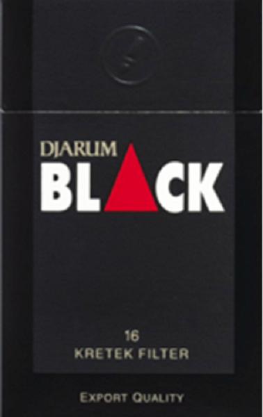 Image of Djarum Black Clove Cigarettes.