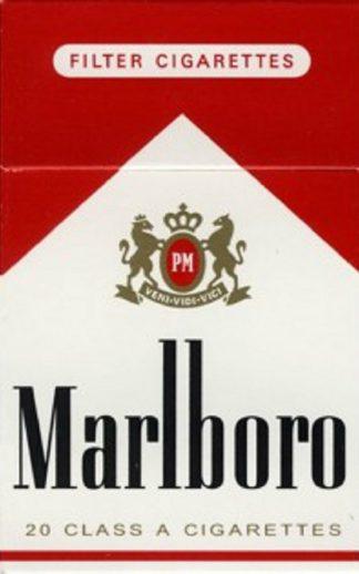 Image of Marlboro Red cigarette.