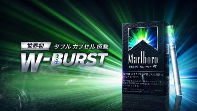 Cigarettes Marlboro filters production