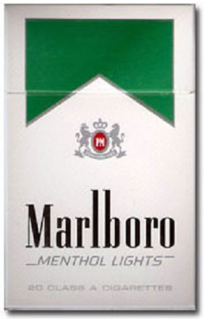 Marlboro cigarettes menthol