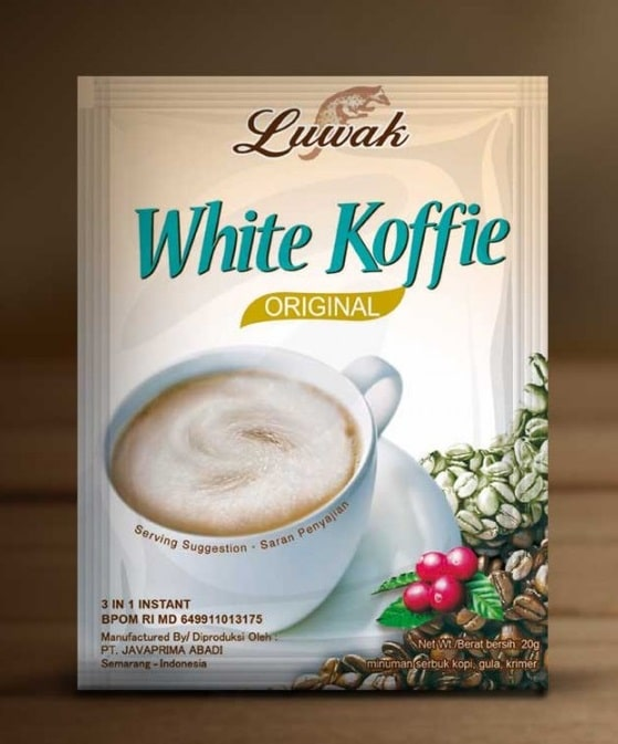 Luwak White Coffee Sachet